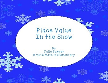 Place Value in the Snow