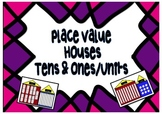 Place Value mats & game Tens & Ones /Units Bundling sticks MAB /Base Ten Blocks