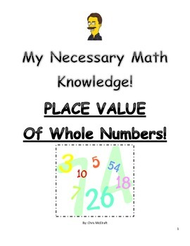 Place Value of Whole Numbers