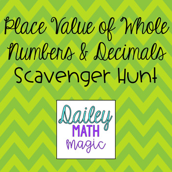Place Value of Whole Numbers & Decimals TEKS 4.2B