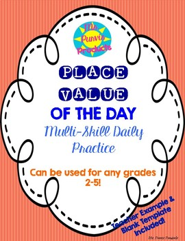 Place Value of the Day