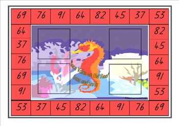 Place Value on the Reef - Tens & Units Maths Game