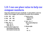 Place Value problems
