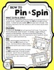 Place Value (thousands through millions) - A Pin & Spin Activity