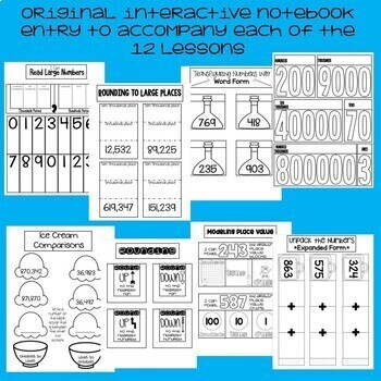Place Value through 999,999 - 3rd Grade Math Unit - Everything  But the Dice