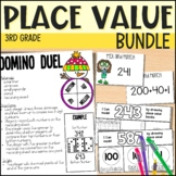 3rd Grade Math Unit - Place Value - Everything  But the Dice