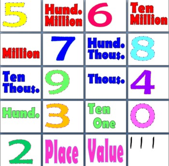 Place Value through the Hundred Millions