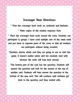 Place Value through the Hundreds Place Scavenger Hunt- Freebie