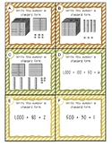 Place Value to 1,200 Task Cards