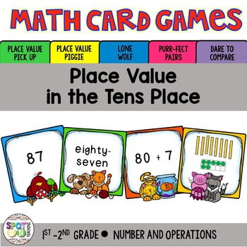 Place Value to 10 Math Card Games
