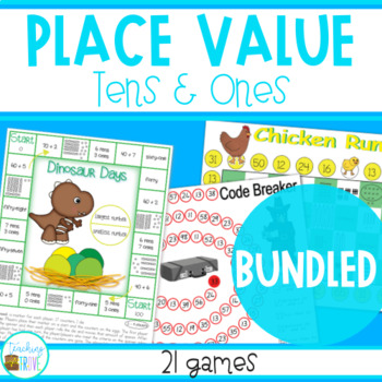 Place Value to 100 Bundled