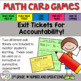 Place Value to 100 Math Card Games
