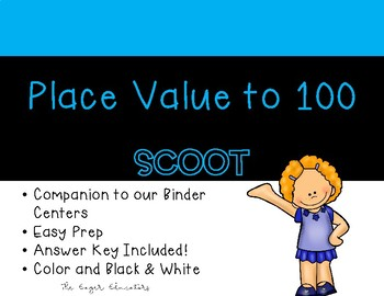 Place Value to 100 Scoot
