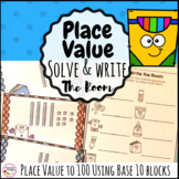 Place Value to 100 Solve and Write The Room