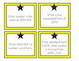 Place Value to 1000 Practice