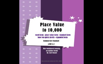 Place Value to 10,000