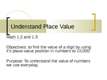 Place Value to 10,000: Word, Expanded, and Standard Form