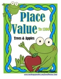 Place Value to 1200 - Apples and Trees