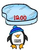Place Value to 1200 - Penguins & Iceberg