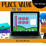 Place Value to 50 | Seesaw Activity