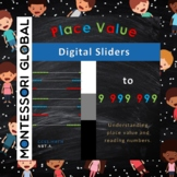 Montessori | Place Value to 9 999 999 - Digital Slider PowerPoint Presentation