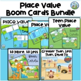 Place Value to 99 Bundle, Distance Learning, Boom Cards