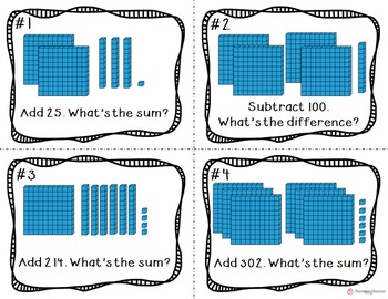 Place Value to 999 {Hundreds, Tens, & Ones}