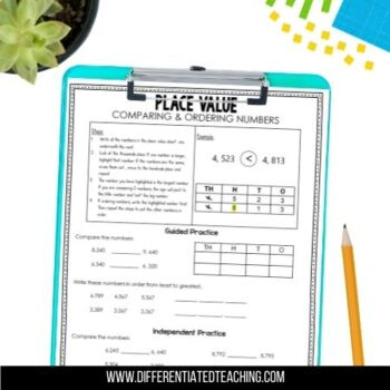 Place Value Intervention - Standards-based activities, strategies, & assessments