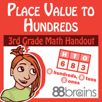 Place Value to Hundreds pgs. 1 & 2 (CCSS)