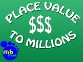 Place Value  4th GRADE interactive MATH math money (games