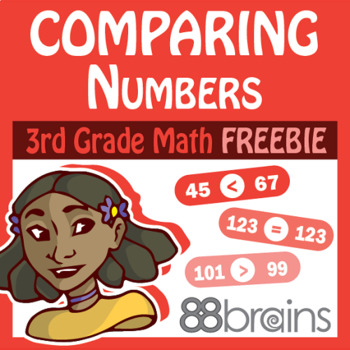 Place Value to Thousands FREEBIE: Comparing Numbers pgs. 7 - 8 (CCSS)