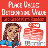 Place Value to Thousands: Determining Value pgs. 5 - 6 (CCSS)
