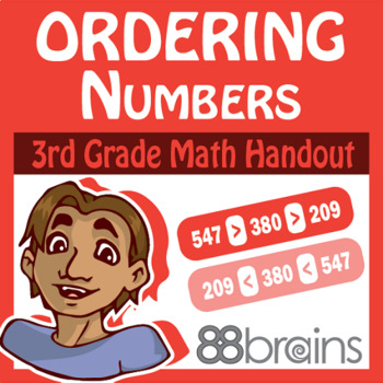 Place Value to Thousands: Ordering Numbers pgs. 9 - 10 (CCSS)