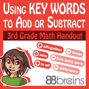 Place Value to Thousands: Using Key Words to Add or Subtra