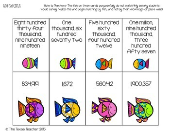 Place Value to the Hundred Millions Centers