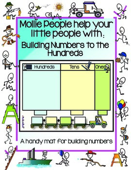 Place Value to the Hundreds:  A Handy Mat for Building Num