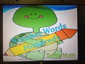 Place Value to the Hundreds - Turtle Math