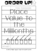 Place Value to the Millionths - Order Up! Set 1