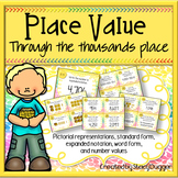 Place Value to the Thousands Place Task Cards
