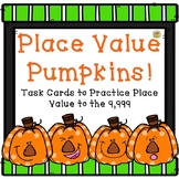 Place Value to the Thousands Place - Task Cards SCOOT - Pu