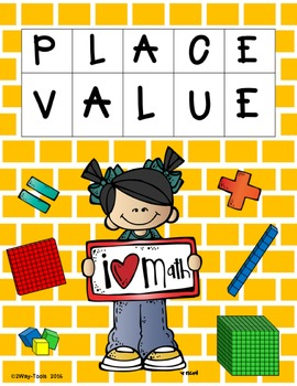 Place Value 2nd grade (100´s - 1,000´s)