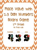 Place Value with 2-3 Digit Numbers Board Game