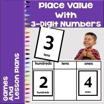 Place Value with 3 Digit Numbers Game ✅ Distant Learning - Digital Activities ✅