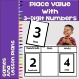 Place Value with 3 Digit Numbers Game - Easel Digital Activities