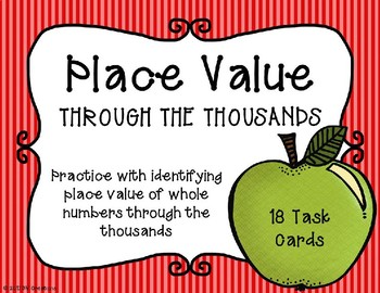 Place Value with 4 Digit Numbers {Autumn Theme}
