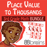 Place Value with Addition & Subtraction within 1000 Bundle