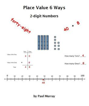 Place Value with Base 10 Blocks:  6 Ways to Represent 2-digit Numbers