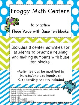 Place Value with Base 10 Blocks Super Bundle