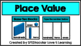 Place Value with Blocks- to the Hundreds GOOGLE CLASSROOM