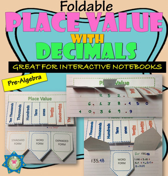 Place Value with Decimals Foldable